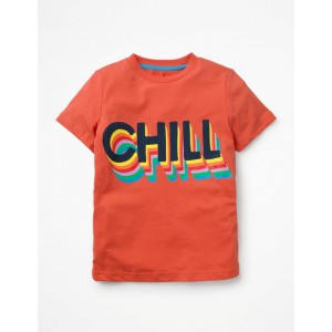 Cool Graphic T-Shirt - Tropical Orange Chill