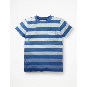 Dip-Dye T-Shirt - Snowy Blue/Wild Blueberry