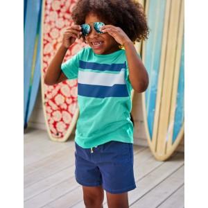 Slub Washed T-Shirt - Sea Breeze Blue/Duke Blue