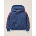Stripe Detail Hoodie - College Blue