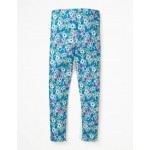 Fun Leggings - Sea Breeze Blue Forget Me Not
