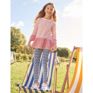 Fun Cosy Leggings - Starboard Blue Stars