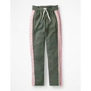Hotchpotch Trousers - Khaki Green Sweet Hearts