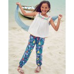 Relaxed Woven Pants - Multi Indian Garden