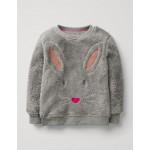 Fluffy Sweatshirt - Vintage Grey Bunny