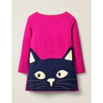 Glow-In-The-Dark Cat Tunic - Pink Yarrow Cat