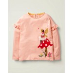 Fairy Applique T-Shirt - Provence Dusty Pink Fairy