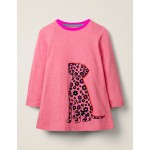 Flocked Pets Tunic - Chalky Pink Marl Dog