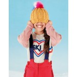 Ski Heart Sweatshirt - Oatmeal Marl Ski Heart