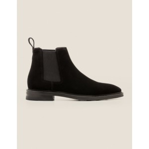 Corby Chelsea Boot - Black Suede