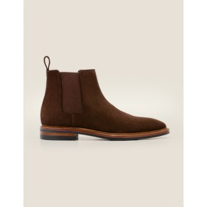 Corby Chelsea Boot - Brown Suede