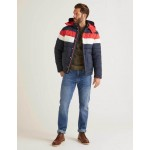 Guildford Quilted Jacket - Navy Colourblock