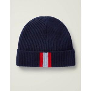 Cashmere Hat - Navy