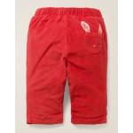 Slim Cord Pants - Carmine Red Bunny
