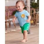 Crochet Friends T-Shirt - Wren Blue Lion