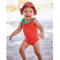 Novelty Summer Swimsuit - Festival Pink Strawberry