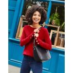 Peggy Sweater - Poinsettia