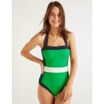Santorini Swimsuit - Shamrock Colourblock