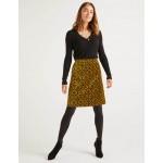 Mimi Velvet Skirt - Trumpet, Poppyseed Bud