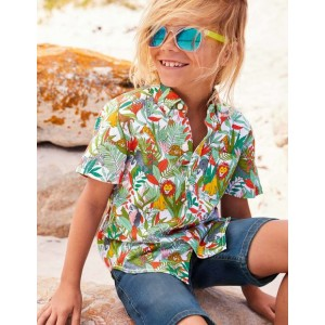 Vacation Shirt - White Jumbo Jungle