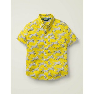 Vacation Shirt - Daffodil Leaping Leopard