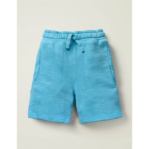 Garment-Dyed Sweatshorts - Surfboard Blue