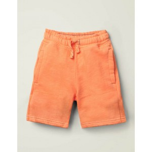 Garment-Dyed Sweatshorts - Tangerine Orange