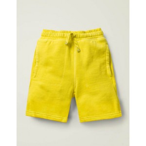 Garment-Dyed Sweatshorts - Lemon Zest Yellow