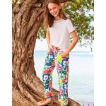 Relaxed Woven Pants - Multi Tropical Bloom