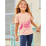 Mouthy Animals T-Shirt - Provence Dusty Pink Dog