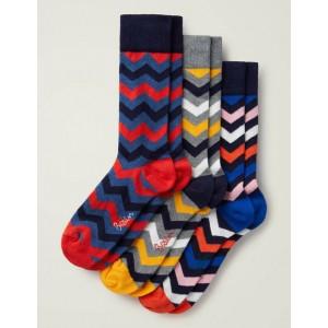 Favourite Socks - Multi Chevron Pack