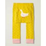 Knitted Leggings - Daffodil Yellow