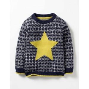 Festive Fair Isle Crew Sweater