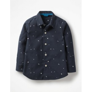 Space Print Party Shirt