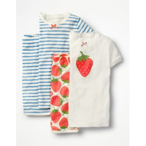 Twin Pack Short John Pajamas