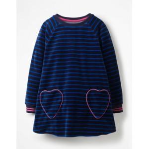 Velour Heart Pocket Tunic