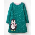 Spotty Animal Applique Dress