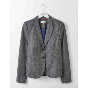 Elizabeth British Tweed Blazer