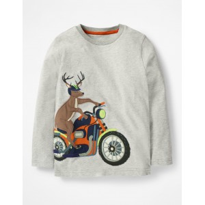 Vehicle Applique T-shirt