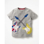 Rock Star Applique T-shirt