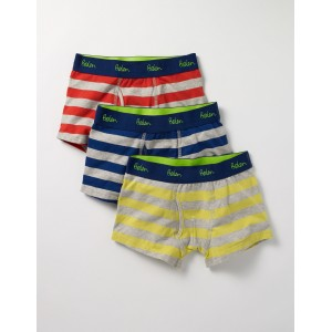3 Pack Jersey Boxers - Multi Stripes