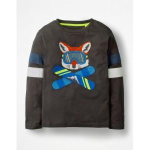 Cool Animals Applique T-shirt