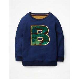 Cosy Textured Sweatshirt