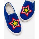 Slip On Shoes - Cobalt Blue