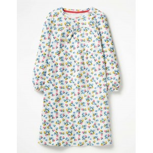Printed Nightgown - Ice Blue Peculiar Pets