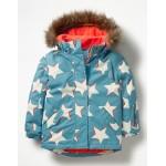All-Weather Waterproof Jacket - Delphinium Blue Shadow Stars