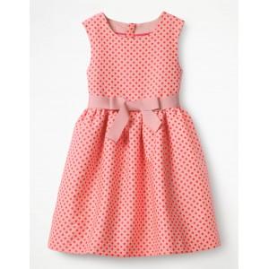 Jacquard Spot Dress