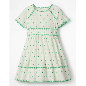 Spotty Short-sleeved Dress