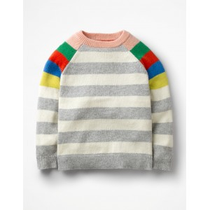 Colourful Raglan Sweater