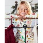 Cosy All-In-One Pyjamas - Ivory Festive Fun